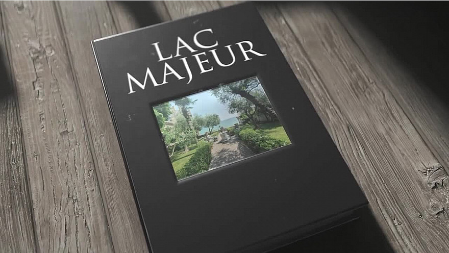 Carte postale Lac majeur (Italie)